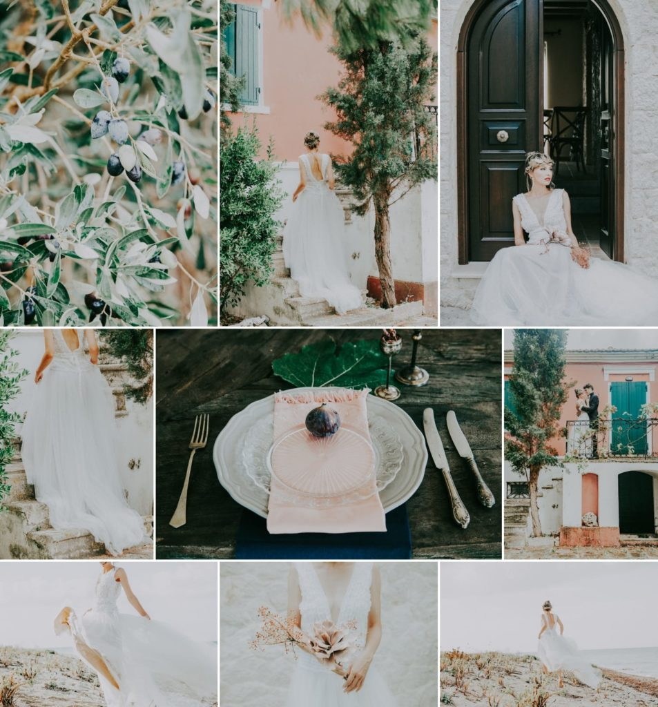 stylish and intimate wedding in lefkada