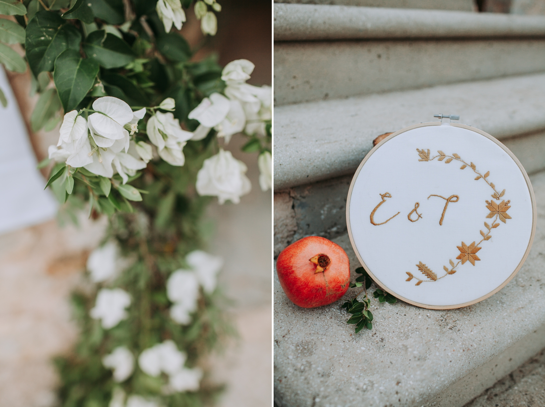Lefkada winery wedding
